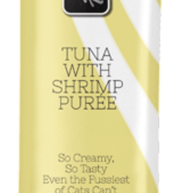 Fussie Cat Puree Treat-TUNA W/ SHRIMP