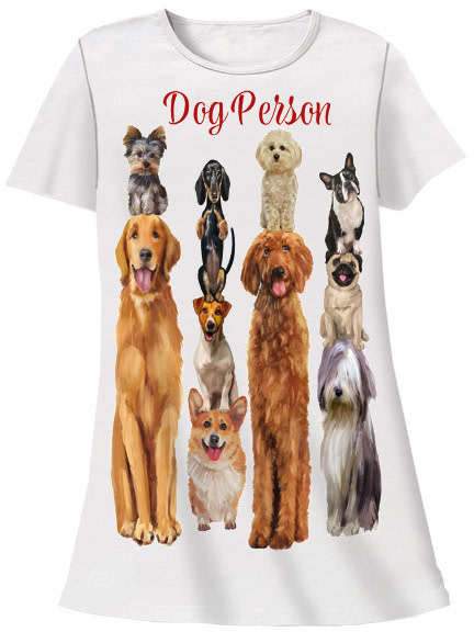 Dog Person Sleep Shirt