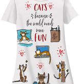 Cats Fun Sleep Shirt