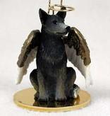 Angel Ornament Australian Cattle Dog-Blue