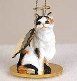 Angel Ornament Cat-Calico