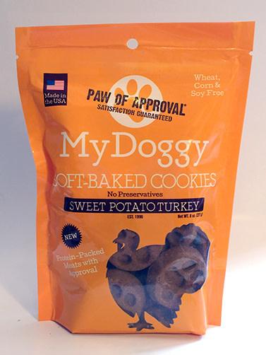 My Doggy Protein Line –  Turkey Sweet Potato Soft Cookie