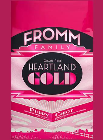 FROMM 4 LB DOG PUPPY HEARTLAND GOLD GF