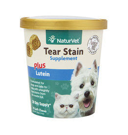 NATURVET 70 CT DOG TEAR STAIN SOFT CHEW CUP