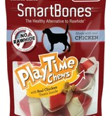 SMARTBONES PLAYTIME CHEWS W/REAL CHICKEN INSIDE