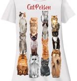 Cat Person Sleep Shirt