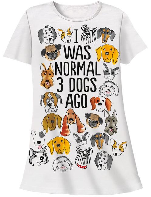 Dogs Normal Sleep Shirt