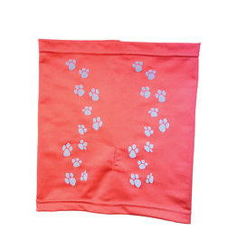Red Paw Print Snoody