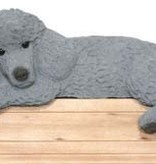 Door Topper Poodle-Gray