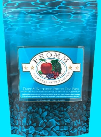 Fromms 4lb Dog Food - Trout  & Whitefish