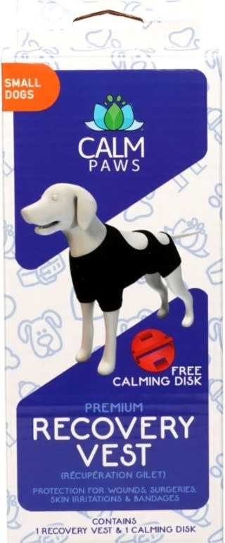 CALM PAWS CALMING RECOVERY VEST-SMALL