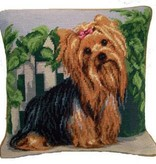 "14"" Pillow -Yorkshire Terrier"