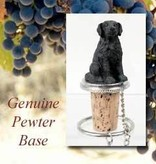 Bottle Topper-Flat Coat Retriever