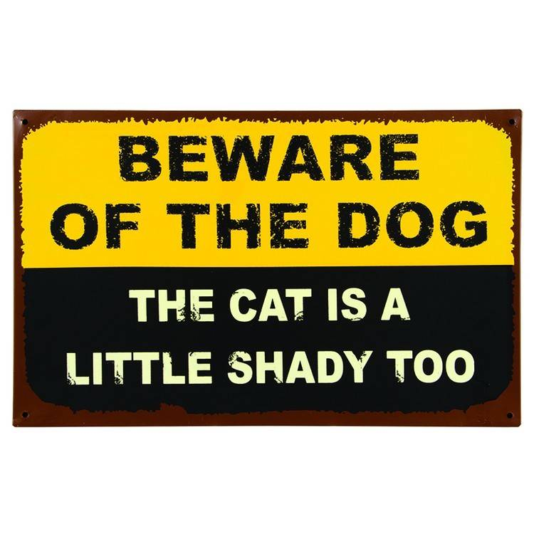 Beware of the Dog ......