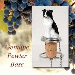 Bottle Topper-Border Collie