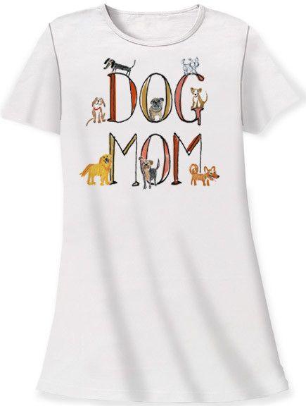 Dog Mom Sleep Shirt