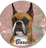 Absorbent Car Coaster - Boxer, Cropped