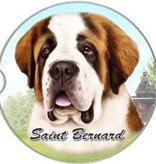 Absorbent Car Coaster - St. Bernard