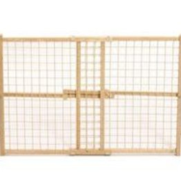 Wood/wire Mesh Pet Gate  24 H X 29-41.5