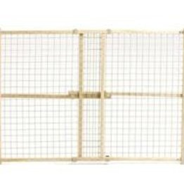 Wood/wire Mesh Pet Gate  32 H X 29-50 W