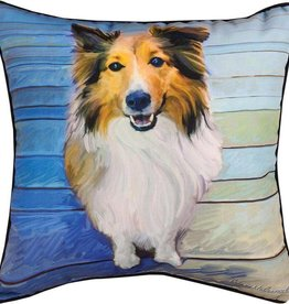 Sheltie Pillow