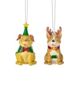 Holiday Dog Ornament
