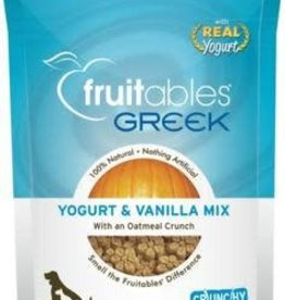 Fruitables 7 oz Dog Greek Yogurt & Vanilla Mix Treat