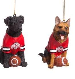 Team Dog Ornaments, Ohio State University