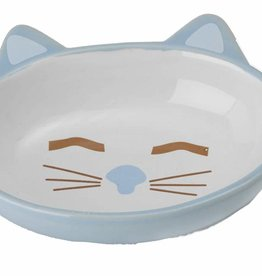 Here Kitty, 5-1/2-Inch Oval, 5.3-Ounce, Blue