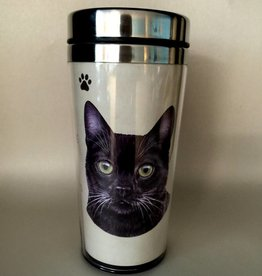 Pet Tumbler-Black Cat