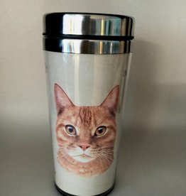 Pet Tumbler-Orange Tabby Cat