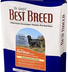 Dr. Gary's Best Breed Grain Free Red Meat Formula-4 lbs
