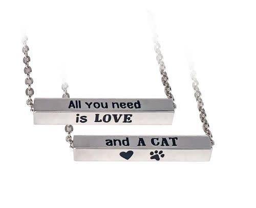 Spoontiques Cat Necklace