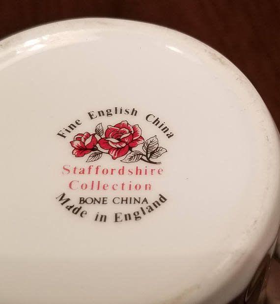 China English Tea Plate Irish Setter