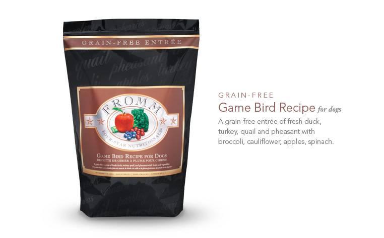Fromms 26lb Dog Food -  Game Bird