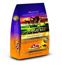 Zignature Kangaroo Formula Dog Food, 4 Lb