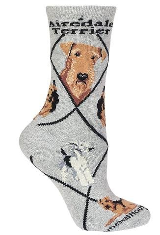 Airedale Terrier Socks