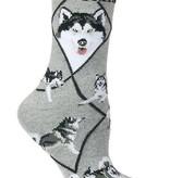 Alaskan Malamute Socks