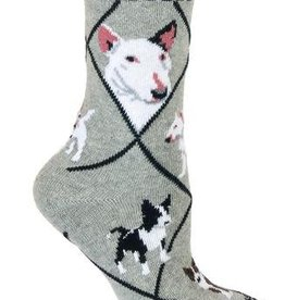 Bull Terrier Socks