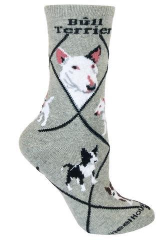 Bull Terrier Socks