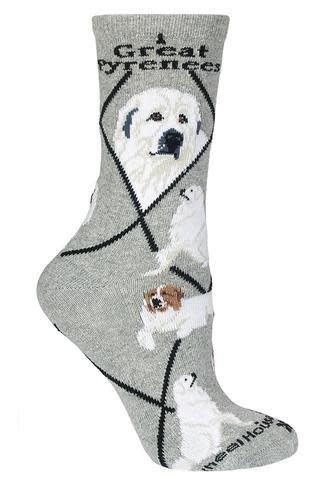 Great Pyrenese Socks