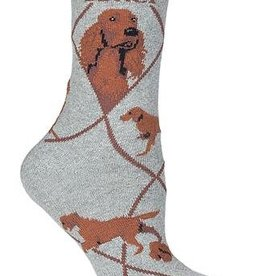 Irish Setter Socks