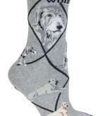 Irish Wolfhound Socks