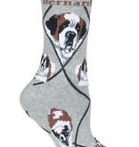 St Bernard Socks