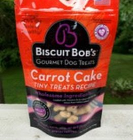 Biscuit Bob 6 oz Dog Carrot Cake Tiny Treats