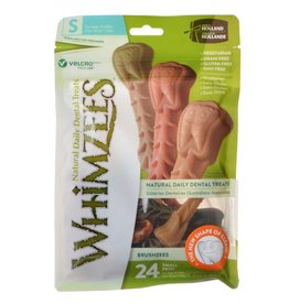 "Bag (24) 3.4"" Whimzees Brushzee Dog Treat"
