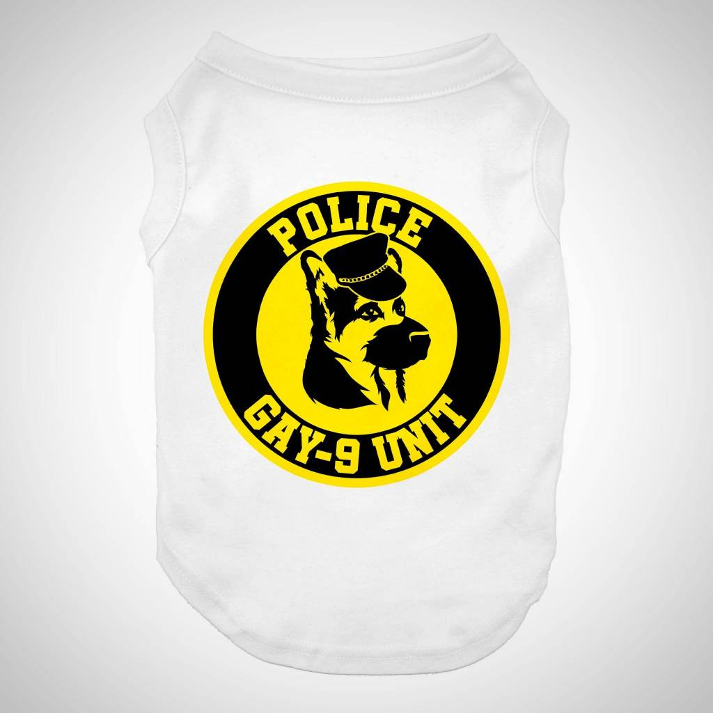 Dog Dog Squirrel Shirt POLICE GAY-9 UNIT ...