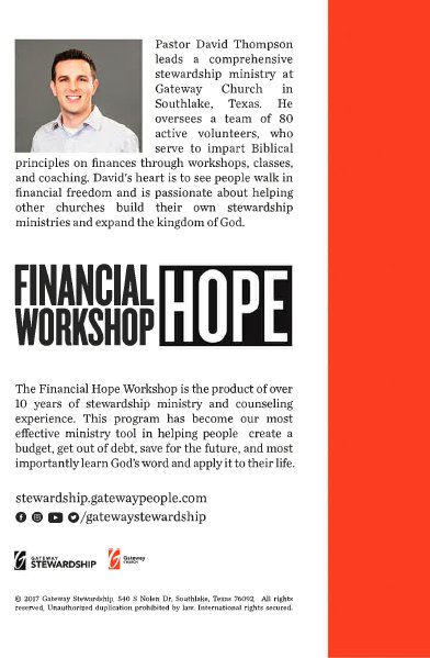 Financial Hope Workbook