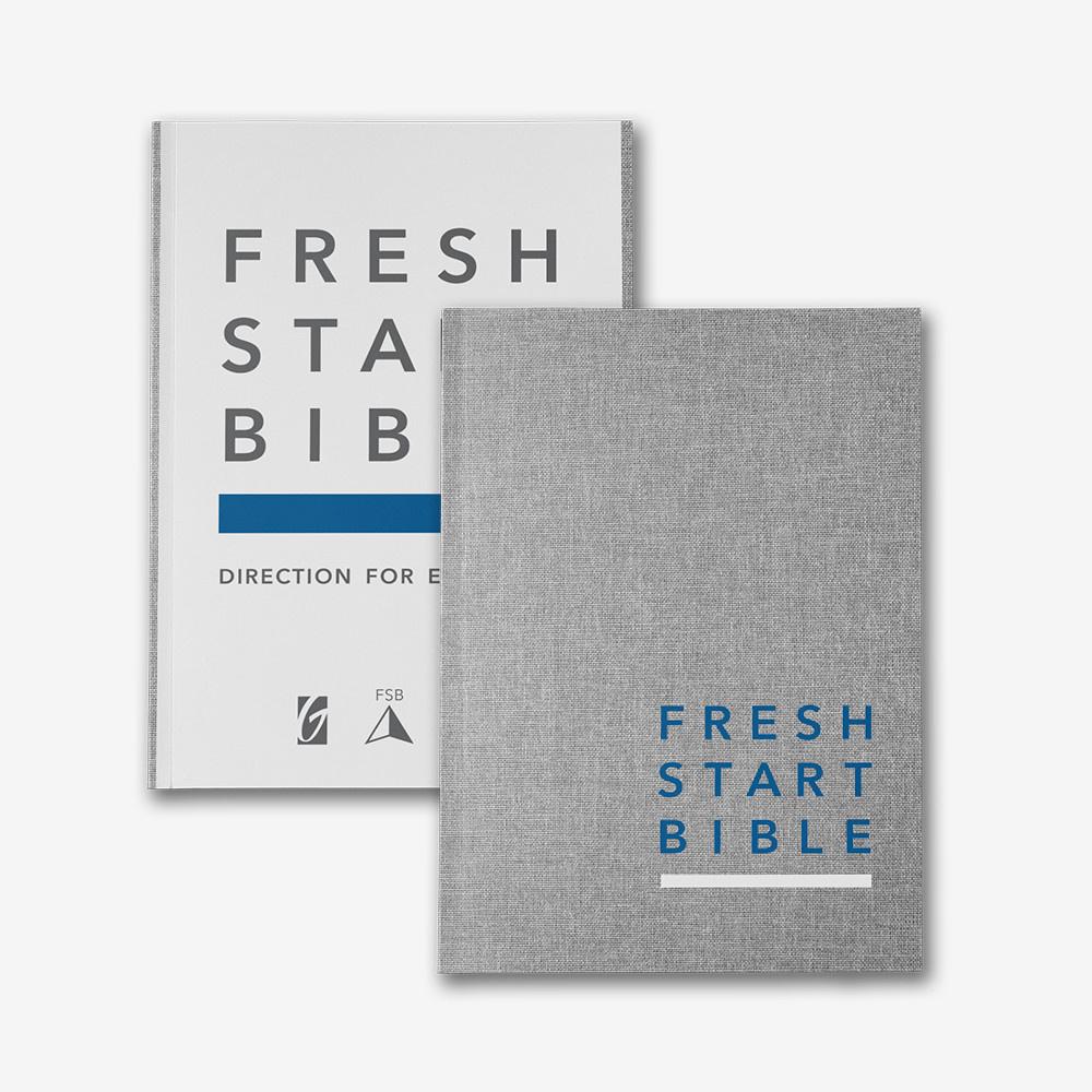 Fresh Start Bible Hardcover Edition (Linen) *PRE-ORDER*