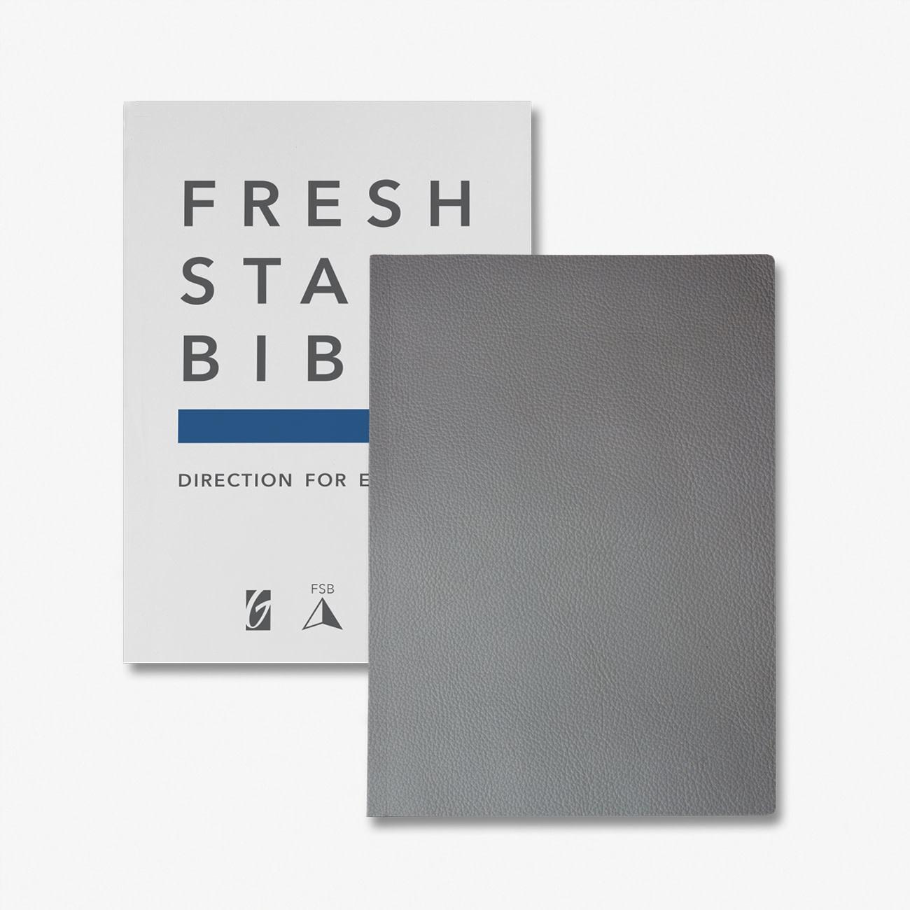 Fresh Start Bible Premium Edition (Genuine Leather) *PRE-ORDER*